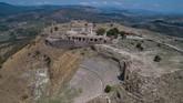 Pergamon bahkan menjadi ibu kota pertama di Provinsi Asian, pada zaman Romawi. (Anadolu Agency/Mahmut Serdar Alakuş)