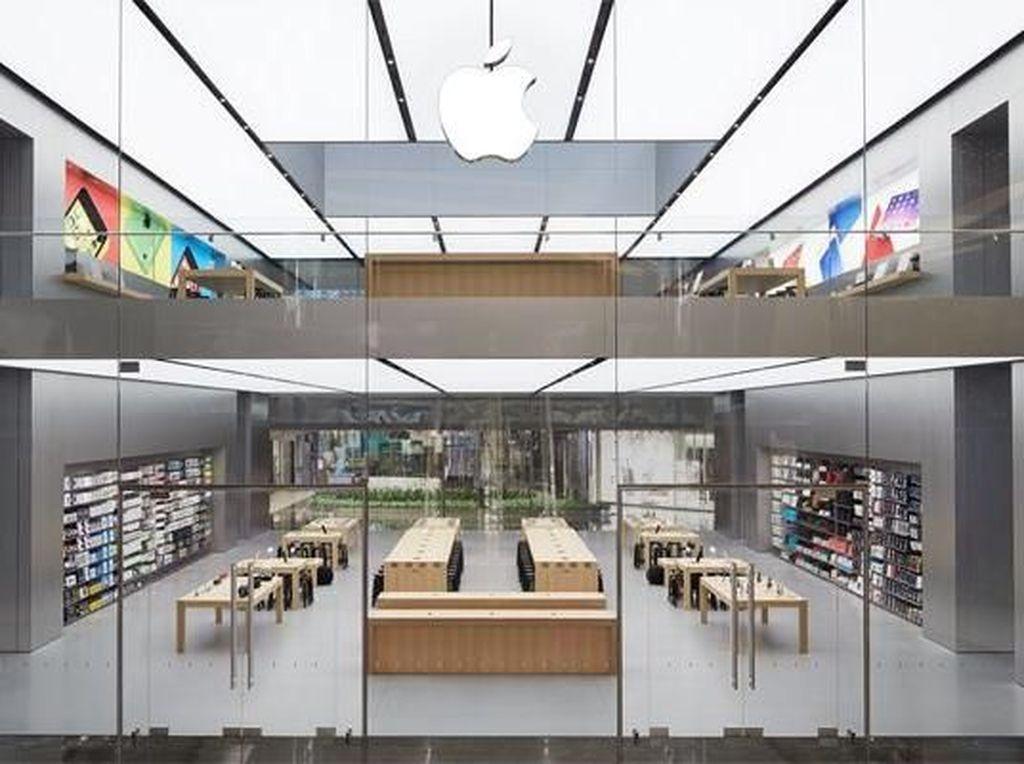 iPhone, MacBook, dan iMac akan hilang dari Turki jika Erdogan memboikot Apple. Foto: Apple Store Istanbul
