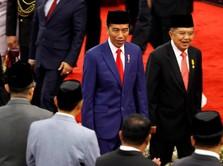 Jokowi Pamer Kemiskinan Satu Digit dan Penurunan Ketimpangan