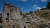 Meski saat itu Pergamon harus merelakan ketenarannya pada Ephesus, kini ia masih berjaya, terutamasetelah UNESCO menyebutnya sebagai warisan budaya dari Turki. (Anadolu Agency/Mahmut Serdar Alakuş)