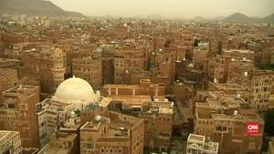 VIDEO: Situs Kota Tua Sana'a di Yaman Terancam Jadi Puing