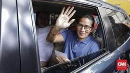 Sandiaga Janji Turunkan Tensi Politik Selama Asian Games
