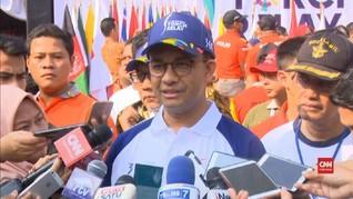 VIDEO: Anies Tak Buru-buru Tunggu Pengganti Sandiaga dari PKS