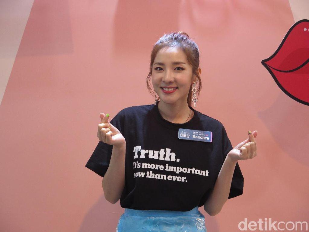 Foto: Artis Hingga Model Cantik Korea Ungkap Tren Makeup 2018