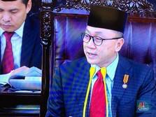 Di Depan Jokowi, Ketua MPR: Jangan Alasan Rupiah Melemah!