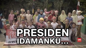 VIDEO: Presiden Idaman versi Anak Indonesia