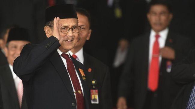 Ucapan Duka Cita untuk Habibie, dari Menteri Hingga Ketua KPK