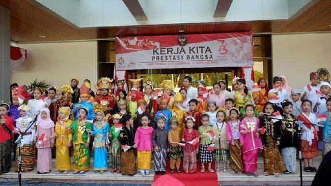 Hasil gambar untuk Upacara Peringatan HUT ke-73 RI di KBRI Bandar Seri Begawan