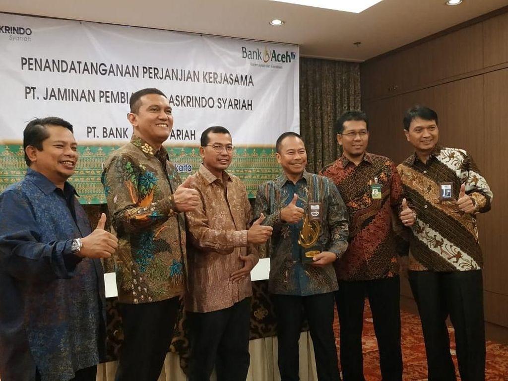 Askrindo Syariah Gandeng Bank Aceh Syariah