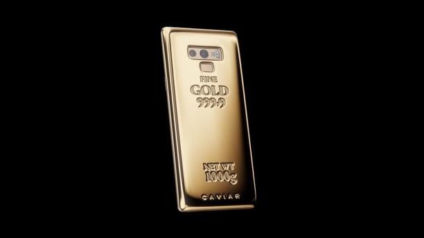 Penampakan Galaxy Note 9 Seharga Rp 800 Juta