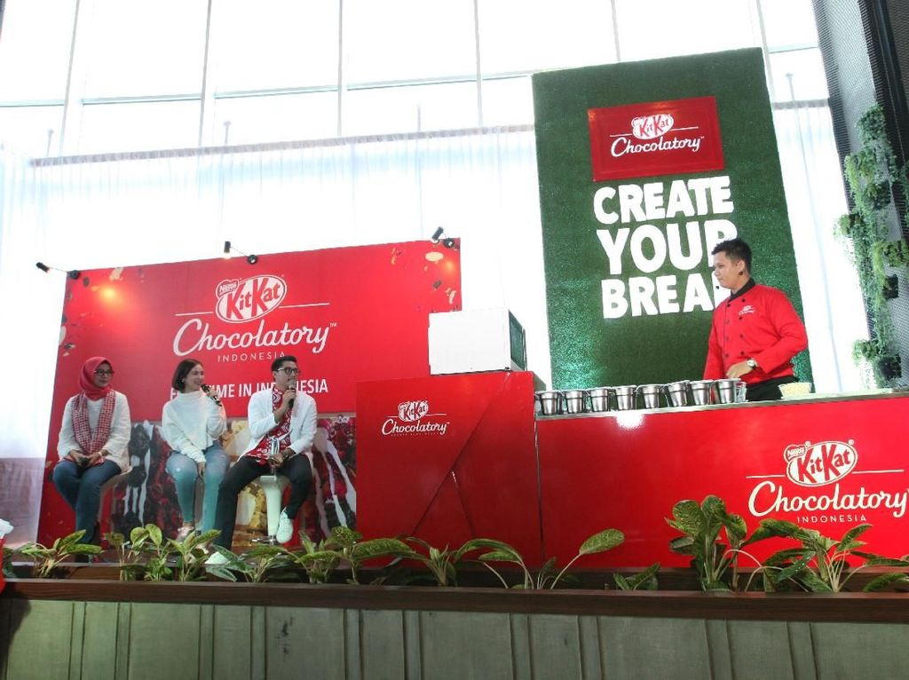 KitKat Chocolatory Pop-Up Store Hadir Pertama di Jakarta