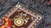 Festival ini saban tahun bisa menarik sekitar 10 ribu pengunjung ke kota Brussels saat liburan musim panas. REUTERS/Yves Herman TPX IMAGES OF THE DAY