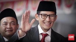 Sandi Kaget Elektabilitasnya dengan Prabowo Meningkat Tajam