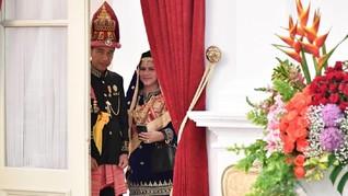 Jokowi Kenakan Topi Identitas Aceh di Upacara 17 Agustus
