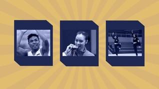 INFOGRAFIS: 5 Calon Bintang Indonesia di Asian Games 2018