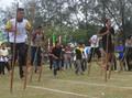 Bisa Main Egrang, Pasar Puri Bambu Bojongkoneng Diluncurkan