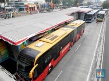 HUT RI ke-73, Naik Transjakarta Gratis 8 Hari!