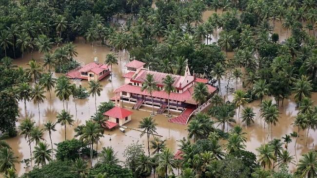 Banjir di Kerala India Menewaskan Lebih dari 300 Orang