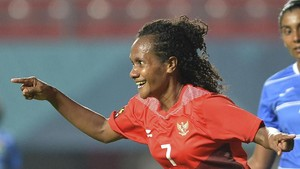 FOTO: Pesta Gol Timnas Sepak Bola Putri Indonesia