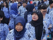 Dinaikkan Jokowi Bulan Depan, Ini Besaran Gaji PNS Terbaru