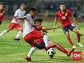 Performa Timnas Indonesia Belum Menjanjikan di Asian Games