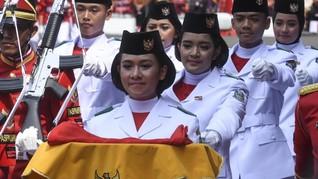 Melihat Kawah Candradimuka Paskibraka di Timur Jakarta