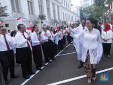 Makna Kebaya Putih Sri Mulyani di Hari Kemerdekaan
