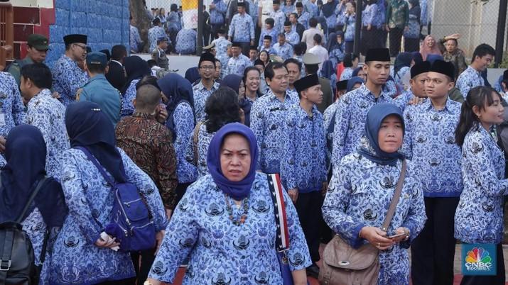 Joss! Giliran PNS Jabatan Ini Dapat Tunjangan dari Jokowi