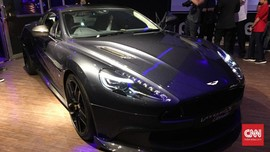 Dijual Belasan Miliran, Aston Martin Langka Sapa Indonesia