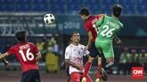 Beto Goncalves yang absen lawan Palestina, tampil trengginas saat Timnas Indonesia U-23 mengalahkan Laos dengan skor 3-0. (CNNIndonesia/Adhi Wicaksono)