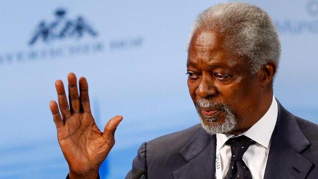 Kofi Annan Dimakamkan 13 September di Ghana