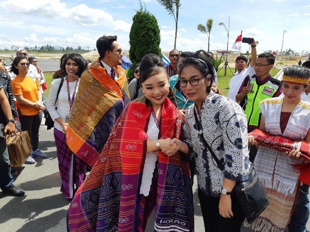 Bandara Silangit Resmi Layani Penerbangan Langsung Internasional