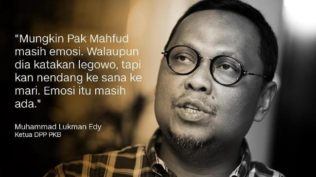 Ketua DPP PKB, Muhammad Lukman Edy.