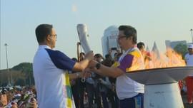 Hari Terakhir Kirab Obor Asian Games 2018