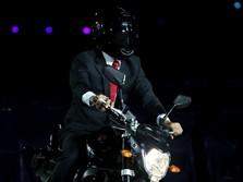 Presiden Naik Motor ke Pembukaan Asian Games? Ini Kata Jokowi