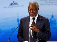 Mantan Sekjen PBB Kofi Annan Wafat