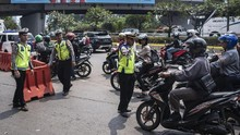 Jelang Pembukaan Asian Games, Jalan Jenderal Sudirman Macet