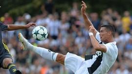 Man United vs Juventus, Rekor Gol Ronaldo Lawan Tim Mourinho