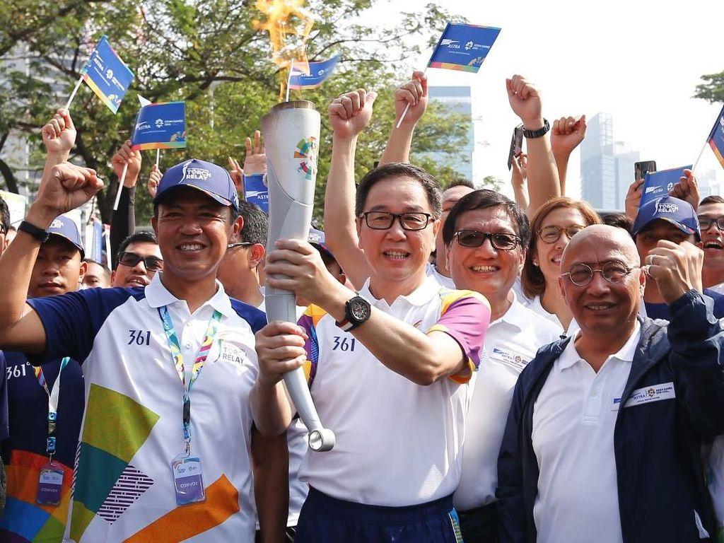 Astra Turut Meriahkan Pawai Obor Asian Games 2018