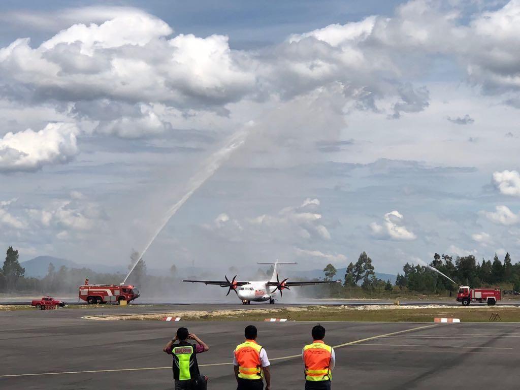 Penerbangan Internasional Jadi Kado HUT RI untuk Danau Toba