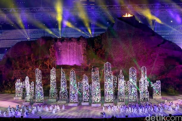 Berbagai Momen Tak Terlupakan di Opening Asian Games 2018