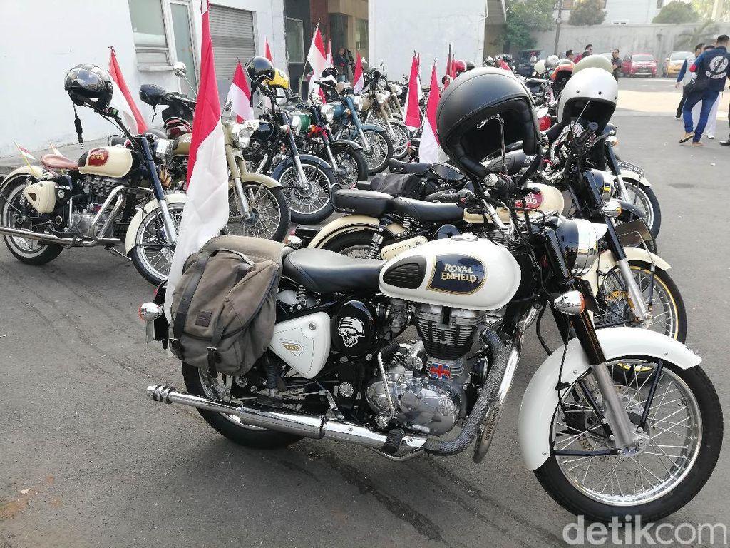 Royal Riders Indonesia mengadakan kegiatan Parade Kemerdekaan 2018 (19/8/2018). Selain di Jakarta Acara ini juga diselenggarakan di Bandung, Lampung, Bali, Solo, Sumbawa dan Bromo.
