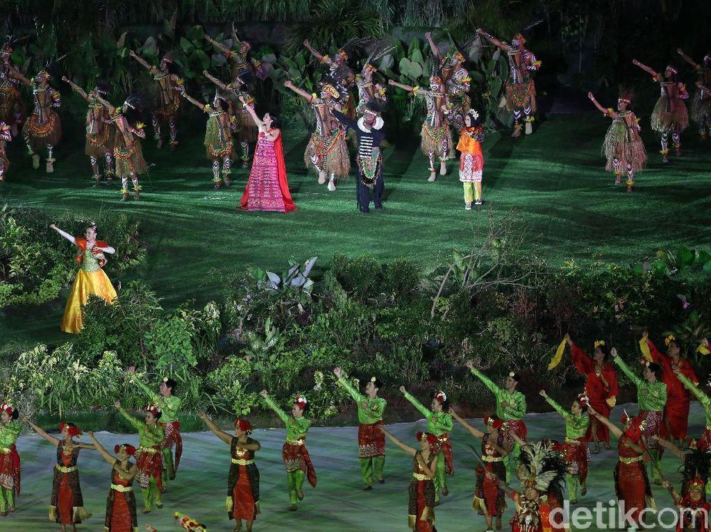 Wishnutama, selaku Creative Director Opening & Closing Asian Games 2018 menjelaskan, acara dibuat dengan persiapan yang minim. Bahkan ia menilai membuat acara semacam ini tidak masuk akal jika pada akhirnya berhasil.