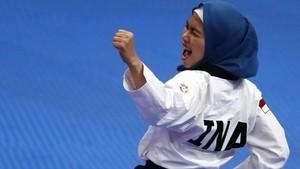 Defia Beri Emas Pertama Indonesia di Asian Games 2018