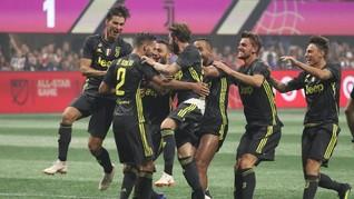Cristiano Ronaldo Debut, Juventus Kalahkan Chievo 3-2
