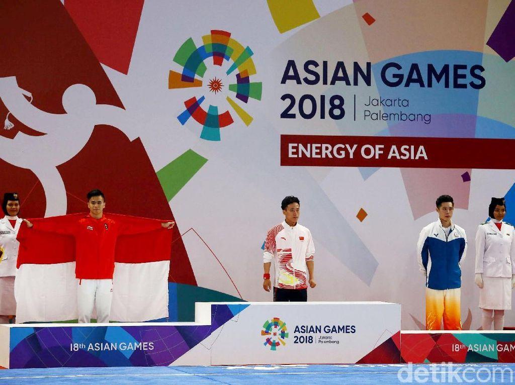 Xavier menjadi pembuka perolehan medali kontingen Indonesia di Asian Games 2018. Dia menyumbangkan meraih perak dari taolu di nomor changquan putra yang diselenggarakan di Hall B, JIEXPO Kemayoran, Minggu (19/8/2018).