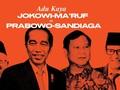 INFOGRAFIS: Adu Kaya Jokowi-Ma'ruf dan Prabowo-Sandiaga