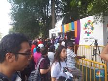 Asian Games 2018, Pembukaan Megah tapi Penukaran Tiket Payah