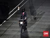 Roy Suryo Persoalkan Aksi <i>Stuntman</i> Motor Jokowi