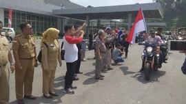 Komunitas Moge Malaysia 'Tersihir' Keindahan Entikong